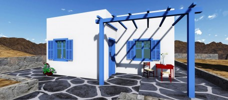 4 New build homes in Greece