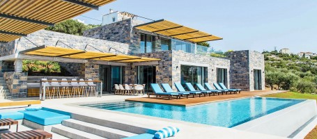 Unique luxury villa in Greece
